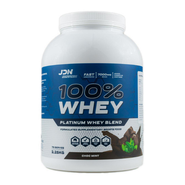 JD Nutraceuticals 100% Whey - Choc Mint