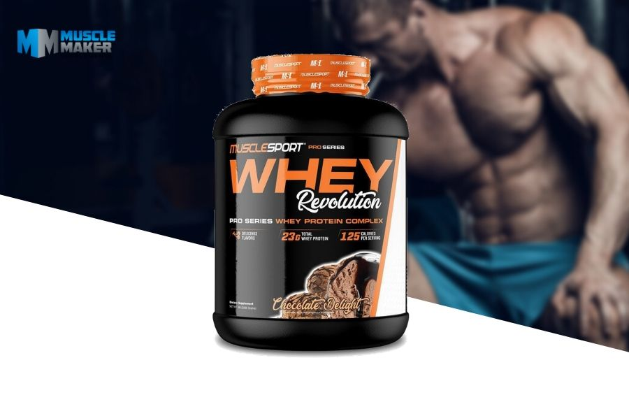 Musclesport Whey Revolution Product