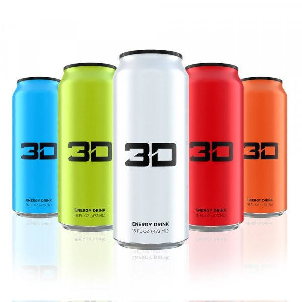 3D Energy Drink - Mixed