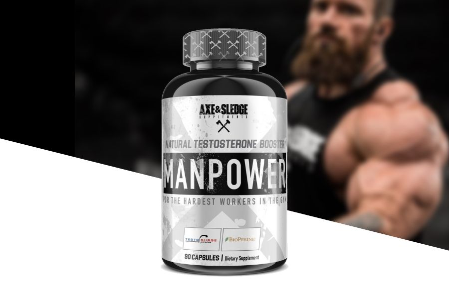 Axe and Sledge Manpower Testosterone Booster Product