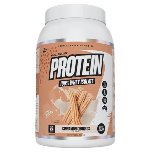 Muscle Nation 100% Whey Protein Isolate - Cinnamon Churros
