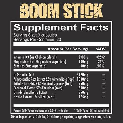 Redcon1 Boom Stick - Label
