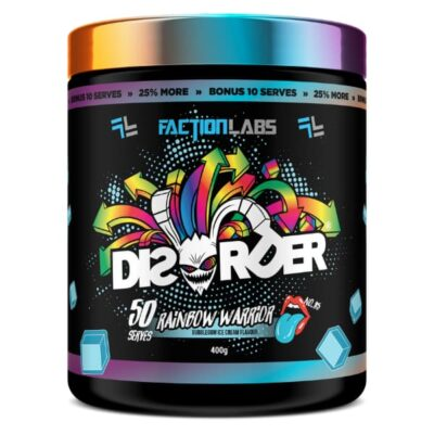 Faction Labs Disorder Pre Workout - Rainbow Warrior