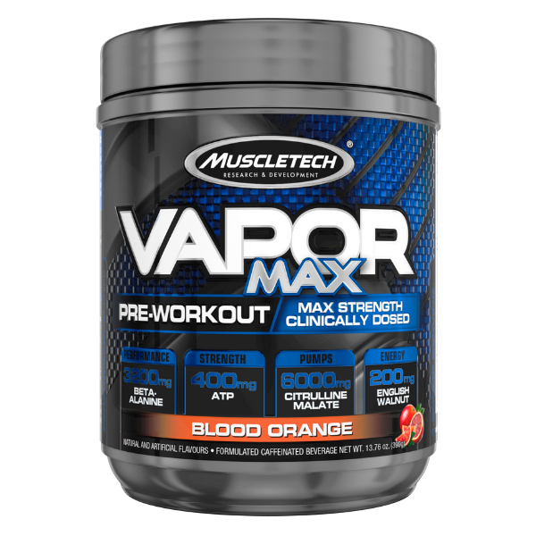 Muscletech Vapor Max pre Workout - Orange