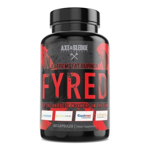 Axe & Sledge Fyred fat Burner Capsules