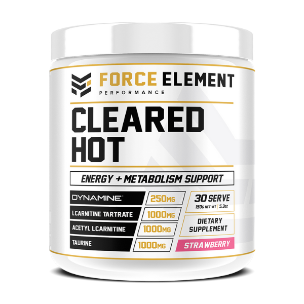Force Element Performance Cleared Hot - Strawberry