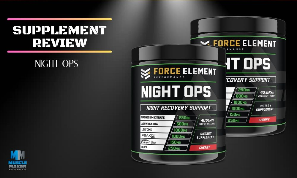 Force Element Performance Night Ops Supplement Review