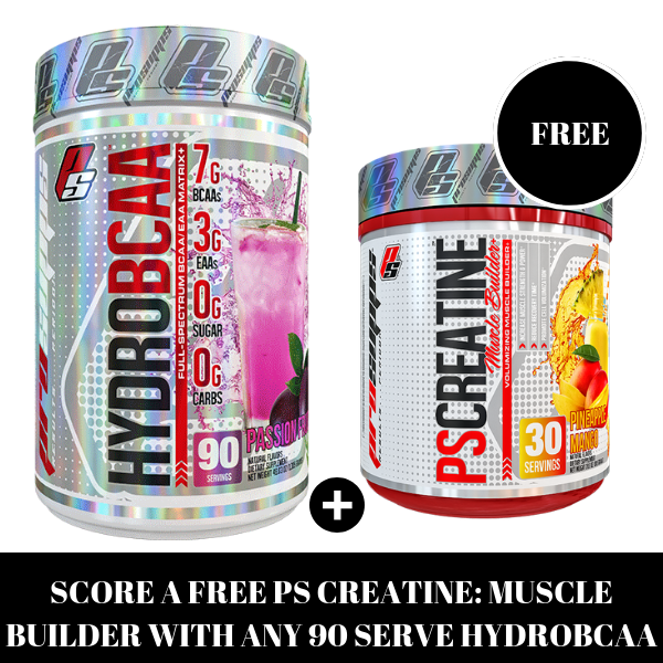 PROSUPPS HYDROBCAA 90 SERVE. FREE PS CREATINE DEAL