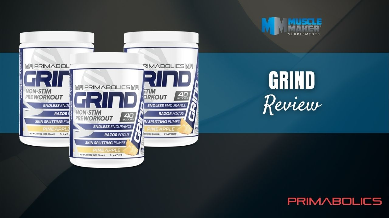 Primabolics Grind Pre Workout Review Thumbnail