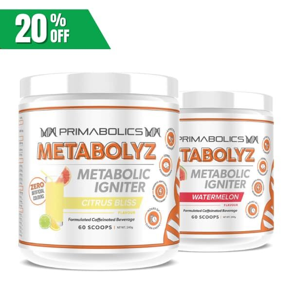 Primabolics Metabolyz Twin Pack