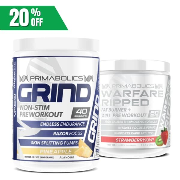 Primabolics Shred and pump stack