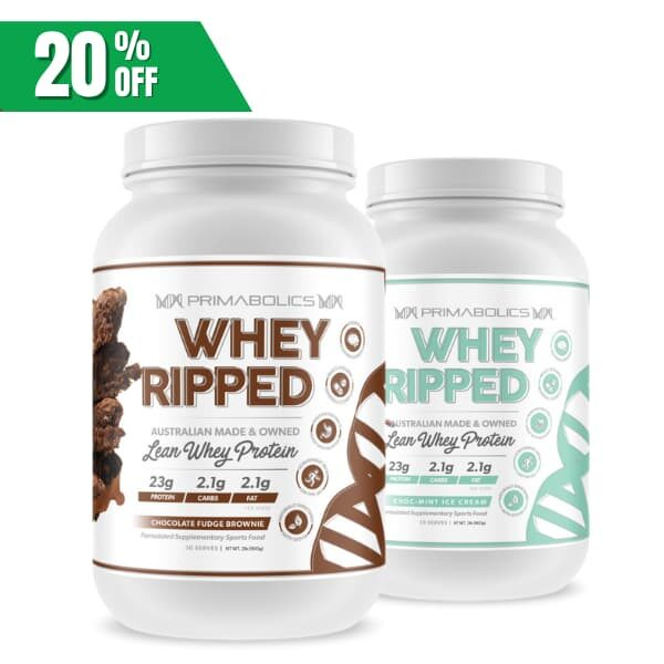 Primabolics Whey Ripped twin pack