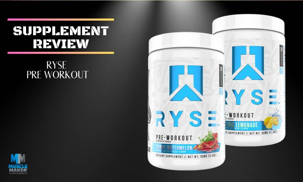 Ryse Pre Workout Supplement Review