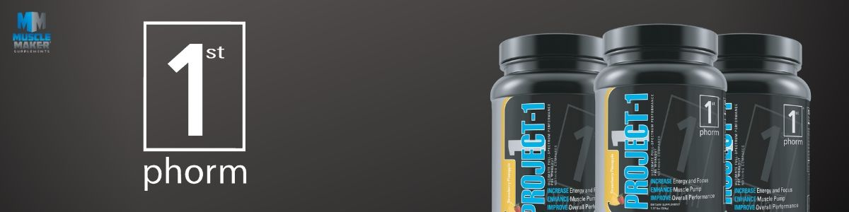 1st Phorm Project 1 Product Banner