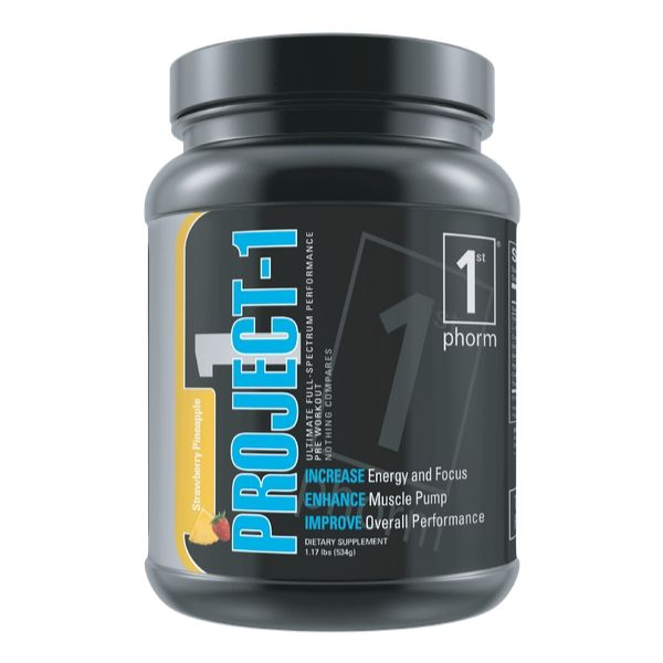 1st Phorm Project-1 pre workout