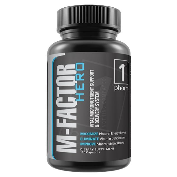 1st Phorm m-factor-hero men's multi vitamin