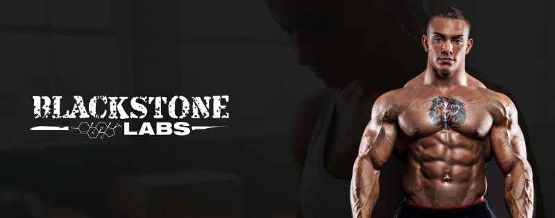 Blackstone Labs Supplements Logo Banner