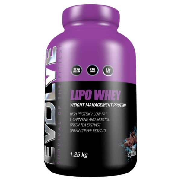 Evolve Nutrition Lipo Whey 1.25kg