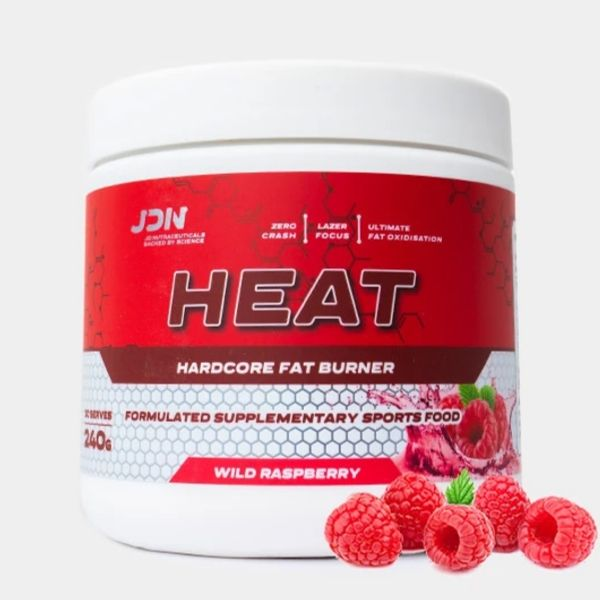 JD Nutraceuticals Heat fat burner - raspberry