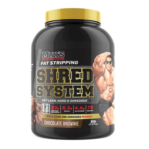 Max's Protein Shred System Fat Burner Protein - Choc