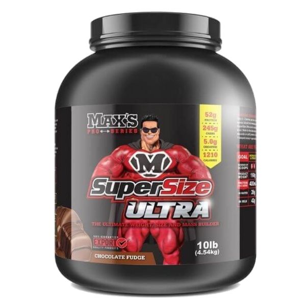 Max's Protein Supersize ultra - Choc