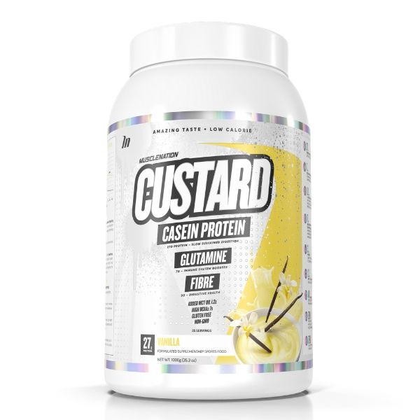 Muscle Nation Custard casein - Vanilla