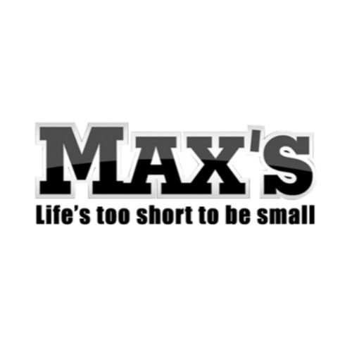 Max's protein Supplements Logo