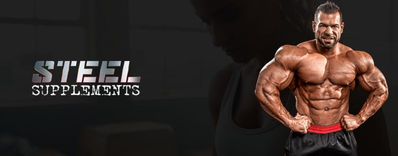 Steel Supplements logo Banner