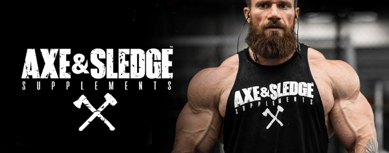 axe & Sledge Supplements logo Banner