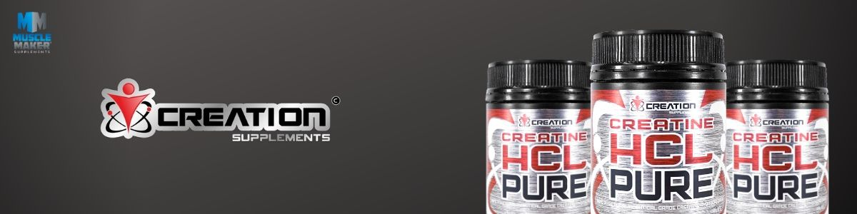 creatine hclpure Product Banner