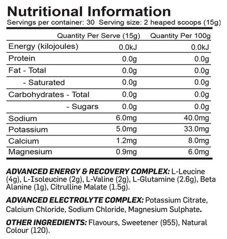 Max's Protein Intraboost Advance - Nutrition