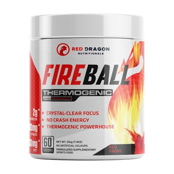 Red Dragon Nutritionals Fireball Fat Burner - Red Frog