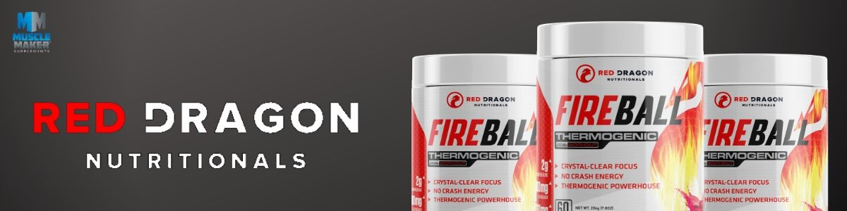 Red Dragon Nutritionals Fireball Product Banner