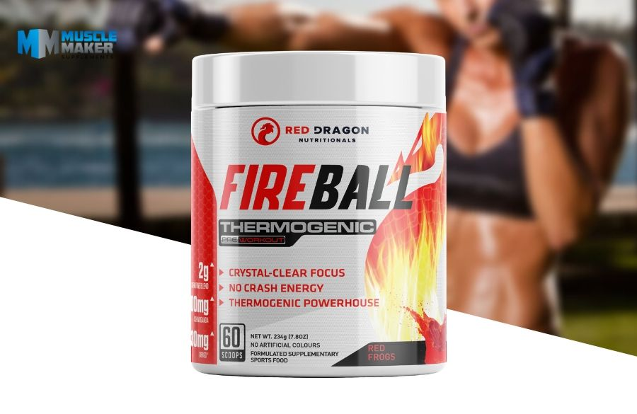 Red Dragon Nutritionals Fireball Product