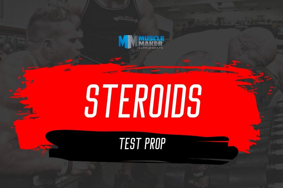 Steroids. test prop - testosterone propionate