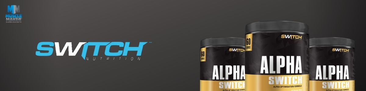 Switch Nutrition Alpha Switch Product Banner