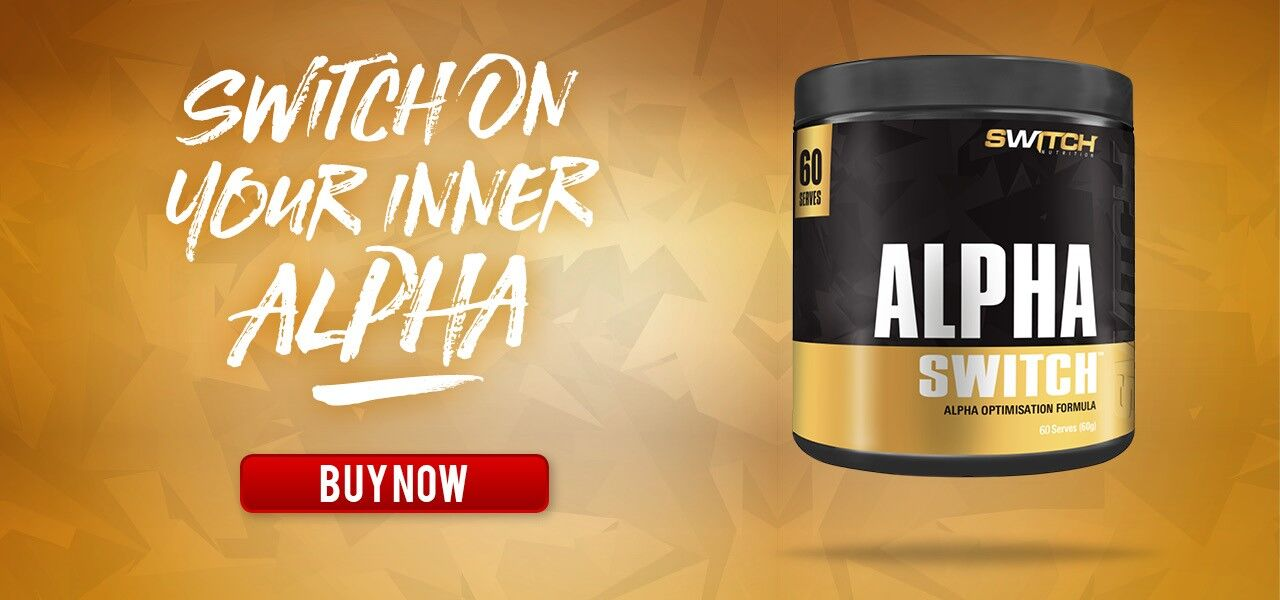 Switch Nutrition Alpha Switch Testosterone Booster Banner