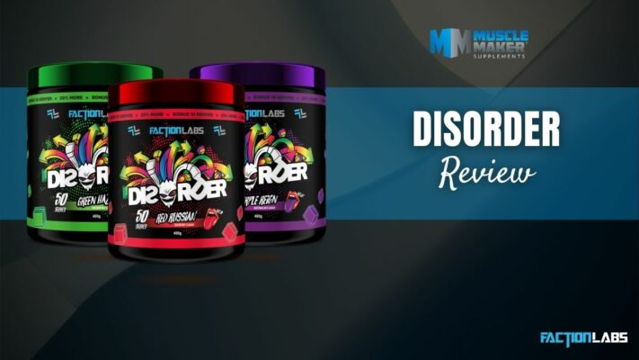 Faction Labs Disorder pre workout review Thumbnail