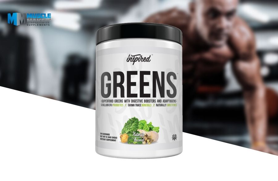 Inspired Nutraceuticals greens superfood powder Product