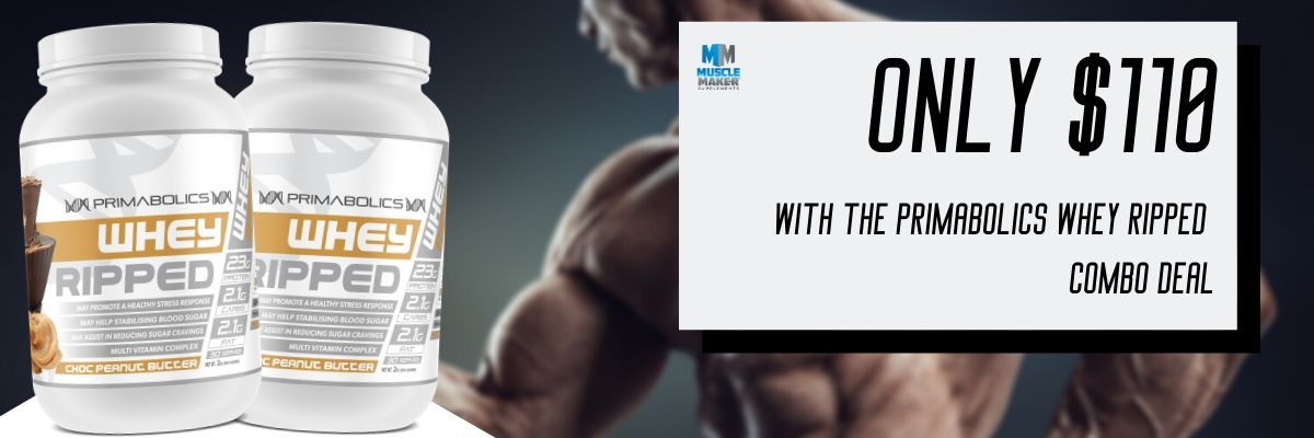 Primabolics Whey Ripped Combo Stack homepage banner