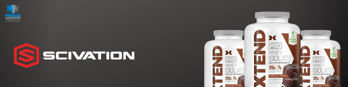 Scivation Xtend pro whey isolate protein Banner