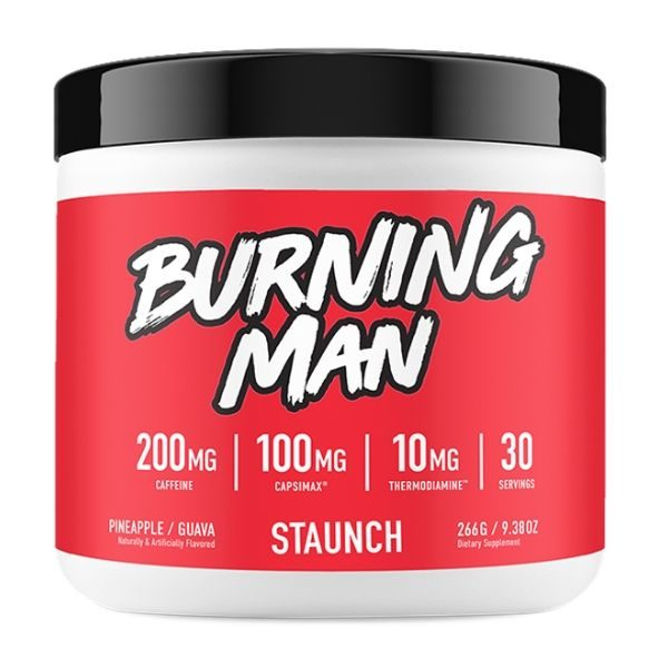 Staunch Nation Burning Man fat burner. PG