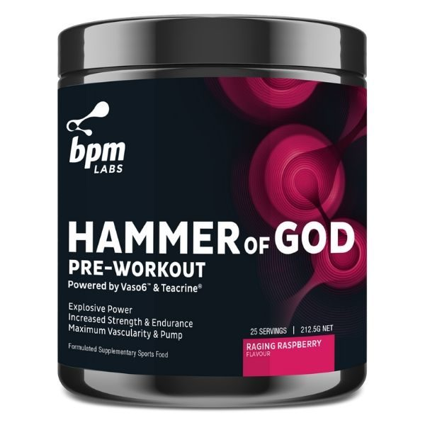 BPM Labs hammer of god pre workout