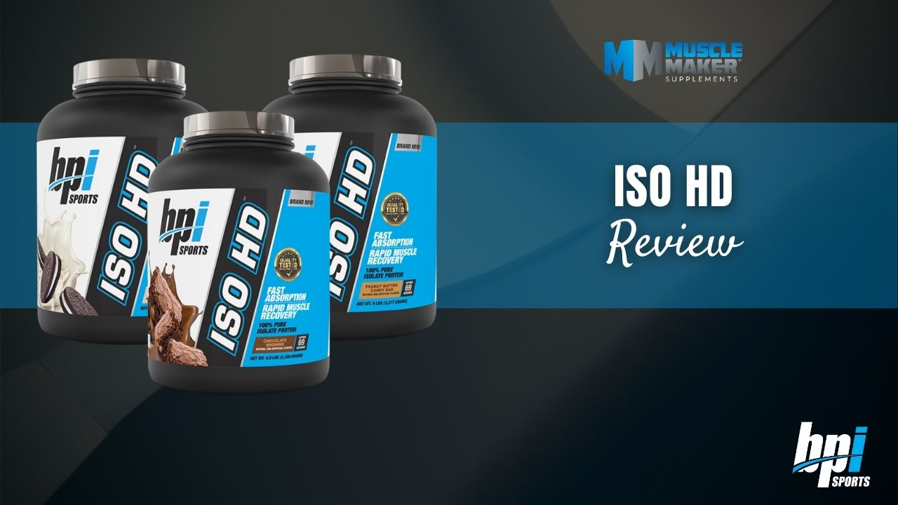 BPI Sports ISO HD Protein Review Thumbnail