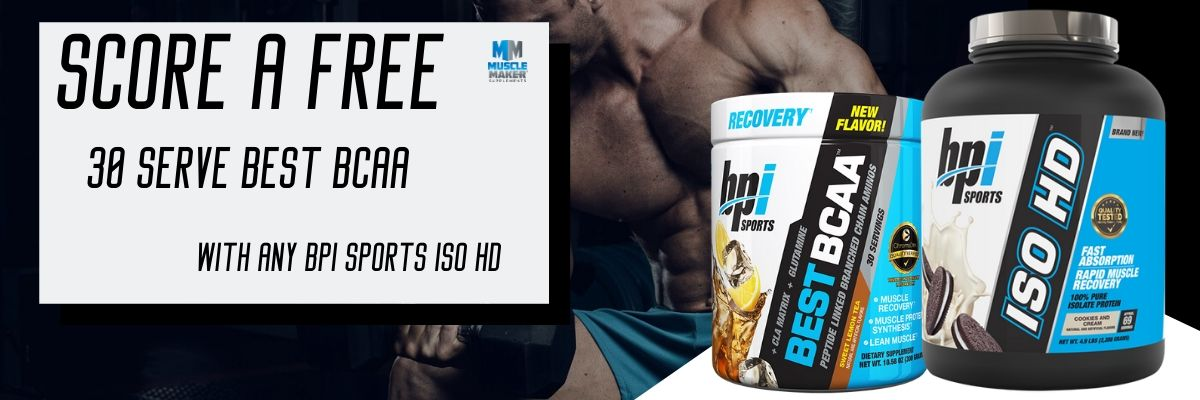 BPI Sports ISO HD deal banner