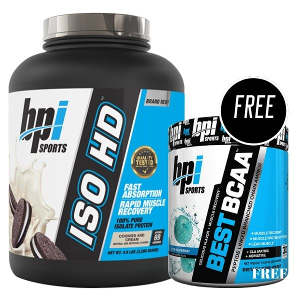Bpi sports iso hd free best bcaa Deal
