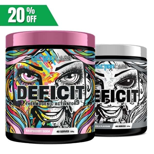 faction Labs Deficit twin pack