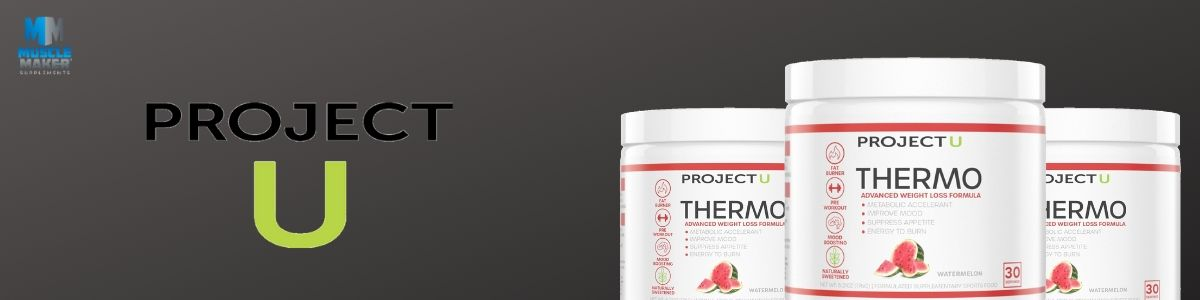 Project U Thermo fat burner Banner