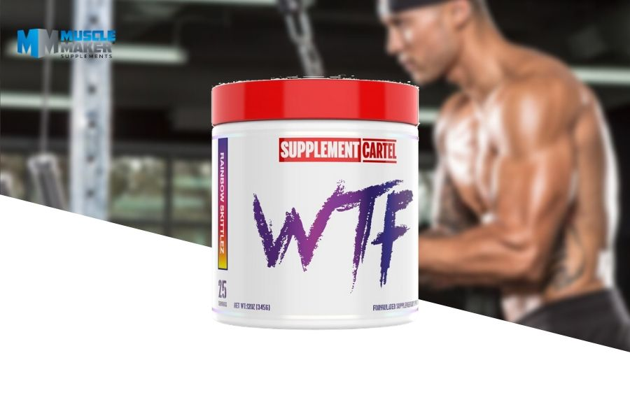 Supplement Cartel WTF pre workout Product