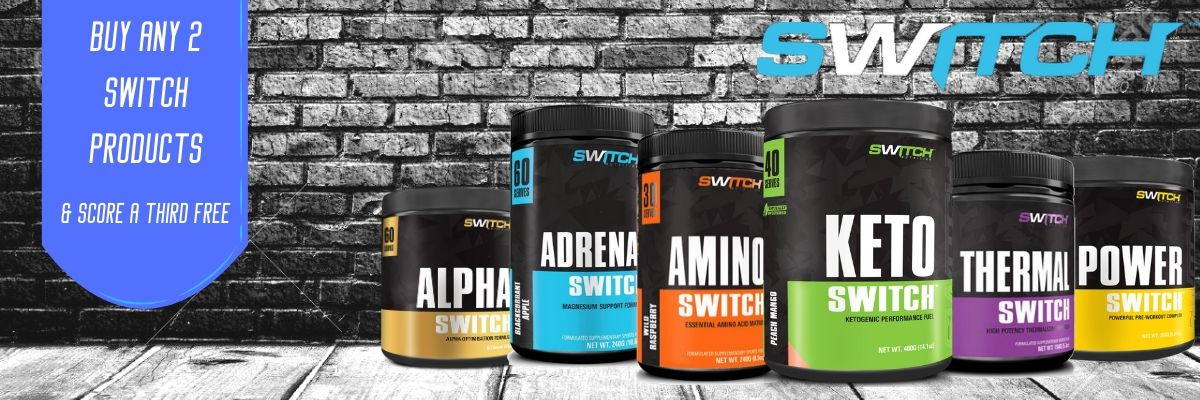 Switch Nutrition February Sale banner